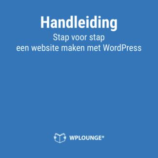 Ebook Handleiding WordPress