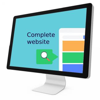 Complete website dienst