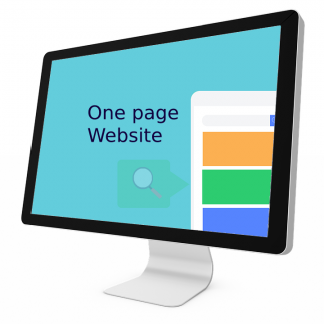 One page website dienst